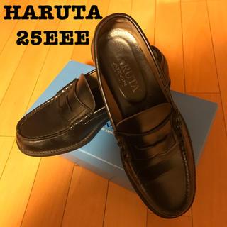 ハルタ(HARUTA)のHARUTA ローファー 黒 25EEE(ドレス/ビジネス)