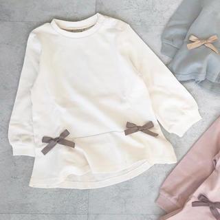 プティマイン(petit main)の新品♡プティマイン ペプラム長袖Tシャツ(Tシャツ)