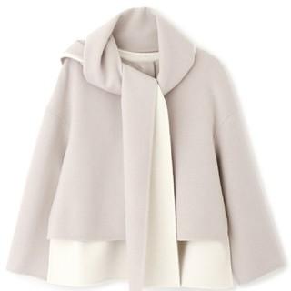 ADORE - アドーア 2TONEリバーストール付きジャケット