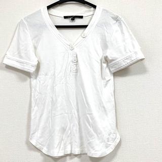 マークジェイコブス(MARC JACOBS)のマークジェイコブス 半袖カットソー S 白(カットソー(半袖/袖なし))