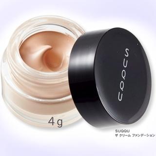 スック(SUQQU)のSUQQU スック ザ クリーム ファンデーション サンプル 試供品(ファンデーション)