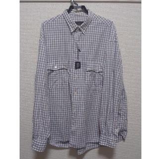 ポータークラシック  X ジャーナルスタンダード ロールアップシャツ グレーXL(シャツ)