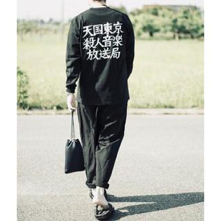 ワコマリア(WACKO MARIA)の【名作】WACKO MARIA 天国東京殺人音楽ロンT 希少アイテム(Tシャツ/カットソー(七分/長袖))