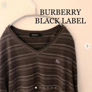 バーバリーブラックレーベル(BURBERRY BLACK LABEL)のBURBERRY BLACK LABEL 長袖カットソー  バーバリー (Tシャツ/カットソー(七分/長袖))