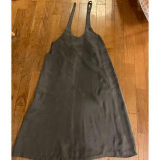 ノーブル(Noble)のNOBLE サロペットスカート カーキ(ロングスカート)
