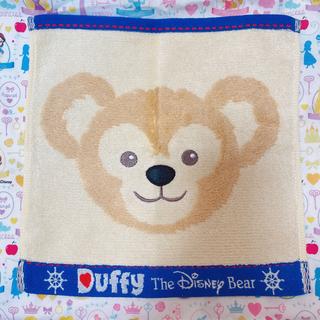 Disney - ディズニー ダッフィー ミニタオル  刺繍 タオル ハンカチ