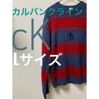 カルバンクライン(Calvin Klein)のカルバンクラインジーンズ calvinkleinjeansウール100%ニット(ニット/セーター)