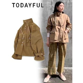 トゥデイフル(TODAYFUL)のTODAYFUL Mountain Nylon Jacket (ノーカラージャケット)