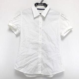 ラルフローレン(Ralph Lauren)のラルフローレン 半袖シャツブラウス 7 S 白(シャツ/ブラウス(半袖/袖なし))