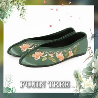 ジャーナルスタンダード(JOURNAL STANDARD)の【FUJIN TREE】China Shoes チャイナシューズ 23cm(バレエシューズ)