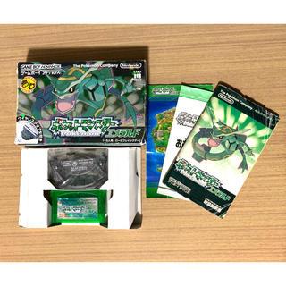 ゲームボーイアドバンス(ゲームボーイアドバンス)のポケットモンスター エメラルド GBA(携帯用ゲームソフト)