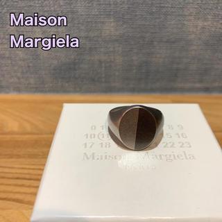 Maison Martin Margiela - Maison Margiela ツートーンシグネットリング Mサイズ(21号)