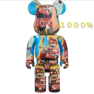 メディコムトイ(MEDICOM TOY)のBE@RBRICK JEAN-MICHEL BASQUIAT #6 1000%(その他)