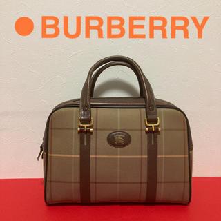 BURBERRY - BURBERRY ヴィンテージ ハンドバッグ ノバチェック 極美品
