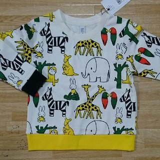 グラニフ(Design Tshirts Store graniph)の新品 グラニフ ミッフィー トレーナー 110cm(Tシャツ/カットソー)