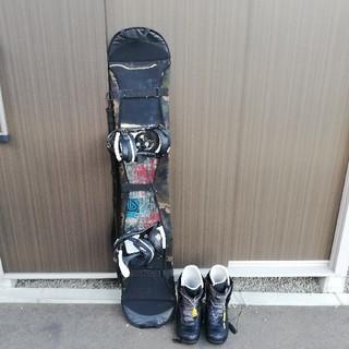 バートン(BURTON)の最終値下げ BURTON スノーボード3点セット(ボード)
