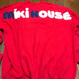 ミキハウス(mikihouse)のmiki house トレーナー(スウェット)