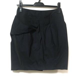 グレースコンチネンタル(GRACE CONTINENTAL)のグレースコンチネンタル スカート 38 M 黒(その他)