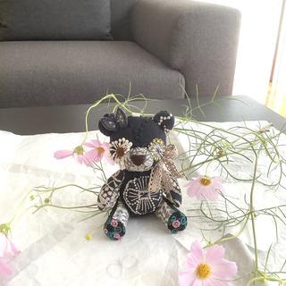 ミナペルホネン(mina perhonen)のハンドメイド♡エンジェルちびパンダ♡タンバリン♡シンフォニー♡(ぬいぐるみ)