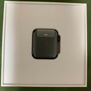 アップルウォッチ(Apple Watch)のApple Watch3 38mm ステンレススチール スペースブラック(その他)