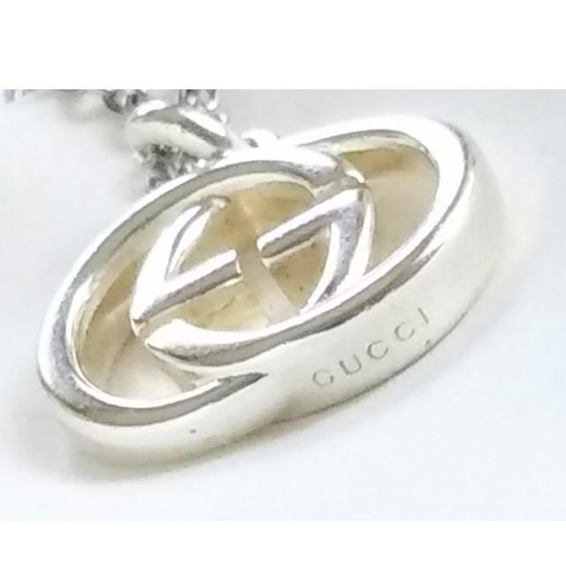 Gucci(グッチ)のグッチ インターロッキングG GGネックレス/ペンダント(あずき細チェーン45) レディースのアクセサリー(ネックレス)の商品写真