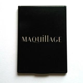 マキアージュ(MAQuillAGE)のMAQuillAGE マキアージュ 鏡 手鏡 黒(ミラー)