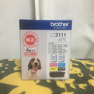 brother - LC3111-4PK 純正インク ブラザー brother 1箱