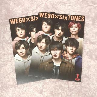 Johnny's - SixTONES WEGO コラボ ポストカード