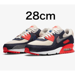 ナイキ(NIKE)の28m Air Max 90 DENHAM Infrared(スニーカー)