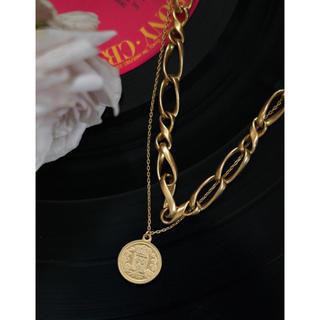【新品未使用】Her lip to Layered Chain Necklace(ネックレス)