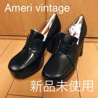 Ameri VINTAGE - 【新品未使用】AMERI PLATFORM LACE UP LOAFER