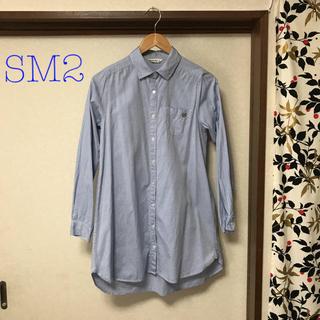 SM2 - サマンサモスモス シャツワンピース ロングシャツ M SM2SM2