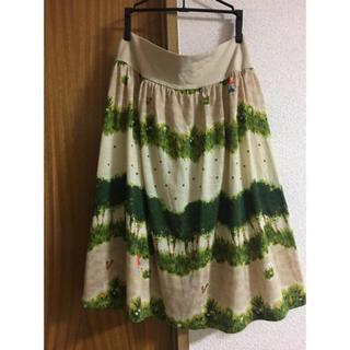フランシュリッペ(franche lippee)の美品*フランシュリッペ 赤ずきんちゃん スカート(ひざ丈スカート)