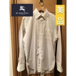 BURBERRY - 【Burberry London】ストライプシャツ サイズL