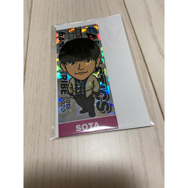 EXILE TRIBE(エグザイル トライブ)の中島颯太 千社札 エンタメ/ホビーのタレントグッズ(ミュージシャン)の商品写真