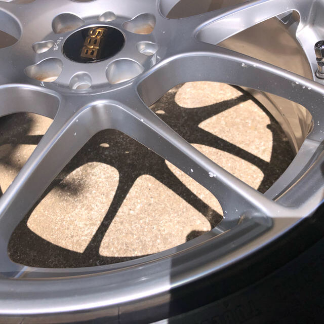 BBS RF 17インチ 自動車/バイクの自動車(タイヤ・ホイールセット)の商品写真