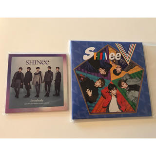 シャイニー(SHINee)のSHINee FIVE Everybody FC盤 CD DVD 未再生(K-POP/アジア)