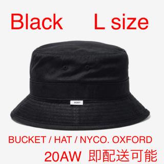 ダブルタップス(W)taps)のwtaps BUCKET / HAT / NYCO. OXFORD 黒 L(ハット)