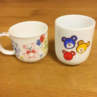 ミキハウス(mikihouse)のミキミキハウス湯呑み & BABY TEDDY'S マグカップ(食器)