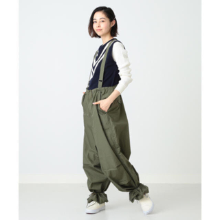 BEAMS - BEAMS BOY US ARMY オーバー パンツ