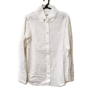 ツモリチサト(TSUMORI CHISATO)のツモリチサト 長袖シャツブラウス 2 M 白(シャツ/ブラウス(長袖/七分))