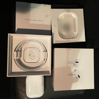 Apple - 最終値下げ!airpods pro Apple純正 超美品