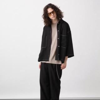 HARE - HARE BIGステッチシャツ&パンツセットアップ