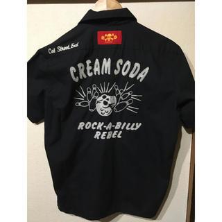 CREAM SODA ボーリングシャツ Mサイズ