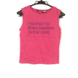 マリークワント(MARY QUANT)のマリークワント ノースリーブTシャツ M(Tシャツ(半袖/袖なし))