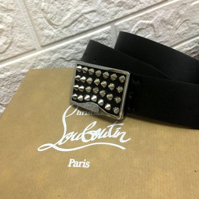Christian Louboutin(クリスチャンルブタン)のChristian Louboutin クリスチャンルブタン ベルト 85サイズ メンズのファッション小物(ベルト)の商品写真