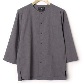 ハレ(HARE)のスナップシャツ8分袖(HARE)(シャツ)