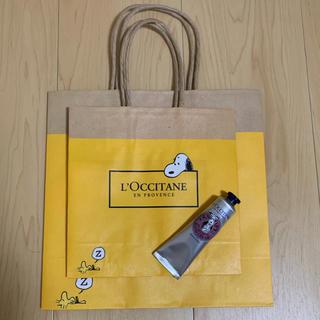 L'OCCITANE - ロクシタン スヌーピーハンドクリーム