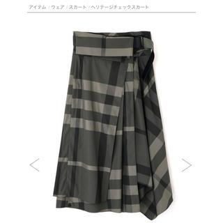 アドーア(ADORE)のアドーア◎チェックスカート(ひざ丈スカート)