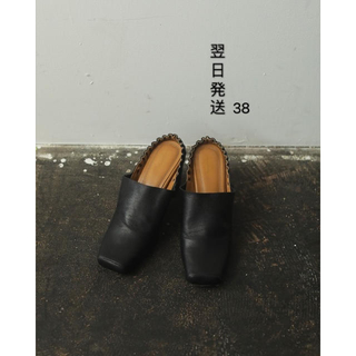 トゥデイフル(TODAYFUL)のTODAYFUL Square Gather Shoes 38(ハイヒール/パンプス)